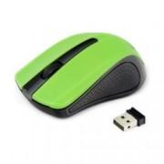 Мишка Gembird MUSW-101-G, оптична(1200 dpi), безжична, зелена