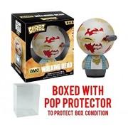 Funko Dorbz: Walking Dead - Walker Vinyl Figure (Bundled with Pop BOX PROTECTOR CASE)