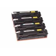 4x Toner HP Color LaserJet PRO MFP M180 fndw / HP-205 A / CF530 CF531 CF532 CF533 kompatibel