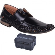 Shoebook Men Black Formal Shoes