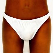 Frederiqua de Silk White Diamond Bodybuilding Bikini Underwear