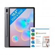 Samsung Galaxy Tab S6 256GB WiFi Grijs + Microsoft Office 365