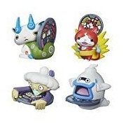 Best Seller Yo-Kai Watch Medal Moments Wave 2 - Set of 4 Action Figure - Jibanyan Whisper Komasan Tattletell by Toy