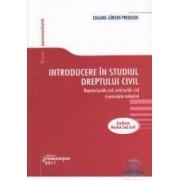 Introducere in studiul Dreptului Civil - Eduard Jurgen Prediger