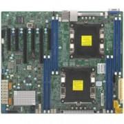 Дънна платка за сървър Supermicro X11DPL-i, LGA 3647, поддържа ECC DIMM DDR4 RAM, 2x Lan1000, 7x SATA 6.0Gb/s, RAID 0/1/10/5, 2x USB 3.0, Display Port, VGA, ATX