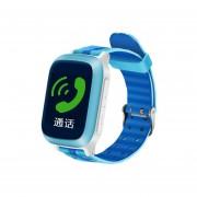 Relojes Smartwatch, DS18 NUEVA Seguridad De Los Niños Anti Perdió El Perseguidor Del GPS Impermeable Smartwatch (azul)