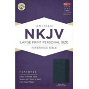 Large Print Personal Size Reference Bible-NKJV, Hardcover/Holman Bible Staff