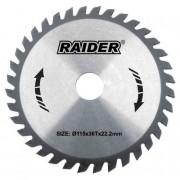 Диск за циркуляр ф190мм 24Tх20мм - Raider