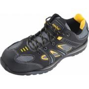 Pantofi de protectie Top Defender S1P SRC Negru/Galben Marime 42