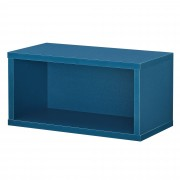 [en.casa]® Variabilní designový systém - skříňky / poličky - 30x15x15 cm - tyrkysové