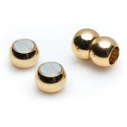 Magnetverschlüsse-Set, gold, 2 Paar