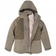 Chaqueta Lippi Tres Cruces Fusion-3 Hoody Jacket Mujer Laurel / Crema