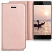 kwmobile Flipový kryt pro Nokia 5 - růžová