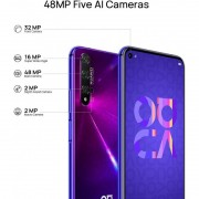 HUAWEI NOVA 5T MIDNIGHT PURPLE BRAND 128GB 6GB DUAL SIM