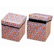 iLiv Attractive Foldable Storage Stool OV-PNTONG-07