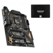 Дънна платка ASROCK Z170 Extreme6 + SSD Samsung 850 EVO Series, 250 GB