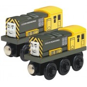 Learning Curve Thomas and Friends Wooden Railway - Iron Arry and Iron Bert
