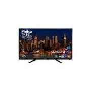 Smart TV LED 39' Philco PH39N91DSGWA HD com Conversor Digital 2 HDMI 2 USB Wi-Fi Android