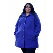 Dámský vlněný kabát pro atypické postavy Exclusive