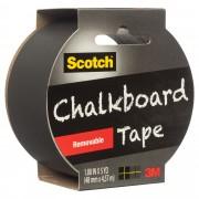 SCOTCH TAPE MASKING SCOTCH 48MMX4.57M CHALKBOARD 1905R-CB-BLK BLACK(EACH)