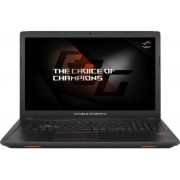 "Laptop Gaming ASUS ROG GL753VE-GC105 (Procesor Intel® Core™ i7-7700HQ (6M Cache, up to 3.80 GHz), Kaby Lake, 17.3""FHD, 16GB, 1TB HDD @5400RPM, nVidia GeForce GTX 1050Ti @4GB, Wireless AC, Tastatura iluminata, Endless OS)"
