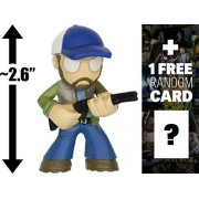 "Bobby: ~2.6"" Supernatural X Funko Mystery Minis Vinyl Mini Figure Series + 1 Free Official Supernatural Trading Card Bundle"