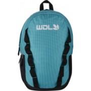 Woodland Sea Blue Padded Shoulder Casual for College Use Office Shoulder and Travel bag With Adjustable straps 2 L Laptop Backpack(Blue, Black)