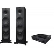 Pachete PROMO STEREO - KEF - Q950 + Cambridge Audio Azur 851A Satin White