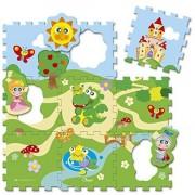 Chicco tappeto puzzle castello 9 pz
