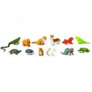 Animale de Companie Safari Set 12 Figurine