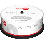 PRIM 2761203 - DVD-R 4.7GB/120Min, 25-er Cakebox