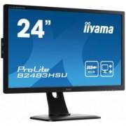 Iiyama ProLite B2483HSU-B1DP 24 Zwart Full HD LED display