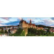 Puzzle panoramic Jumbo - Sigmaringen Castle, 1.000 piese (18520)