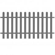 vidaXL Gard din șipci din WPC, 200 x 100 cm, gri