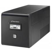 BlueWalker PowerWalker VI 1000 LCD 1000VA 4AC outlet(s) Torre Nero gruppo di continuità (UPS)