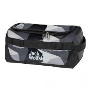 Jack Wolfskin Kulturbeutel Expedition Wash Bag grey geo block