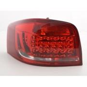 FK-Automotive fanali posteriori LED Audi A3 3-porta (8P) anno di cost. 2010-2012 rosso/chiaro
