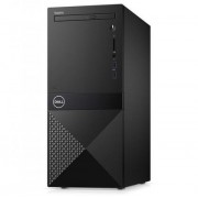 Настолен компютър Dell Vostro 3670 MT, Intel Core i5-8400 (up to 4.00GHz, 9MB), 8GB 2666MHz DDR4, 256GB SSD PCIe M.2, DVD+/-RW, Intel UHD 630, 802.11n, BT 4.0, Keyboard&Mouse, MS Win10 Pro, 3Y NBD