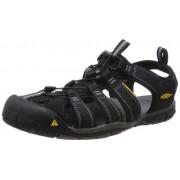 KEEN Men's Clearwater CNX Sandal Black/Gargoyle 11 D(M) US