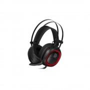 HEADPHONES, TteSports Shock PRO, Gaming, Microphone, RGB, 7.1, Black (SHK-DIECBK-25)