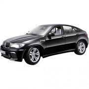 Bburago - 1/18 BMW X6 M (Black)