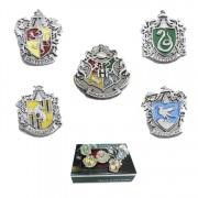 Set Insigne Harry Potter Hogwarts School Silver