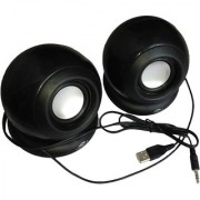 GurujiMart Tera byte TB-TB-008T Portable Laptop/Desktop Speaker Black