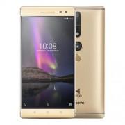 "Smartphone, Lenovo Phab2 PRO PB2-690M Voice, 6.4"", Quad Core (1.8G), 4GB RAM, 64GB Storage, Android, Gold (ZA1F0007BG)"
