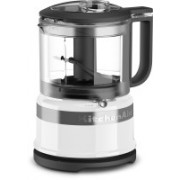 KitchenAid 3.5 Cup Mini Food Processor White (KFC3516WH) 500 W Food Processor(Clear)