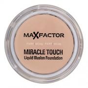 Max Factor Miracle Touch Liquid Illusion Foundation 11,5g Грим за Жени Нюанс - 45 Warm Almond