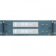 2 Channel powered rack for 10 series module ie 1013 etc