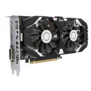 Видеокарта MSI GeForce GTX 1050 1404Mhz PCI-E 3.0 2048Mb 7008Mhz 128 bit DVI DP HDMI HDCP GTX 1050 2GT OCV1