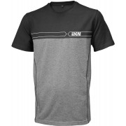 IXS Team T-Shirt Black Grey M