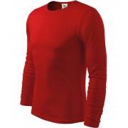 ADLER FIT-T Long Sleeve Pánské triko 11907 červená S